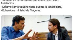 La imagen antigua de Pedro Sánchez y Pablo Iglesias con la que se están haciendo las mejores bromas de la