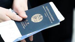 북한 국적의 여성이 사전 허가 없이 인천공항을 통해
