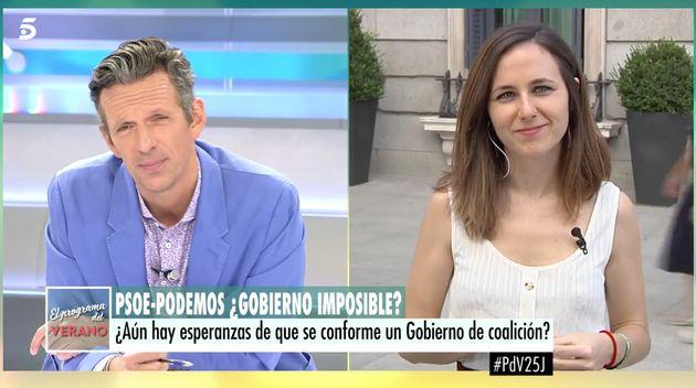 La frase de Joaquín Prat en 'El programa de AR' que ha descolocado a una diputada de