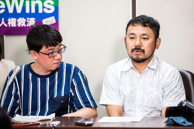 川田さん(左)と田中さん