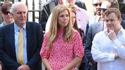 Cette robe de la compagne de Boris Johnson est en rupture de