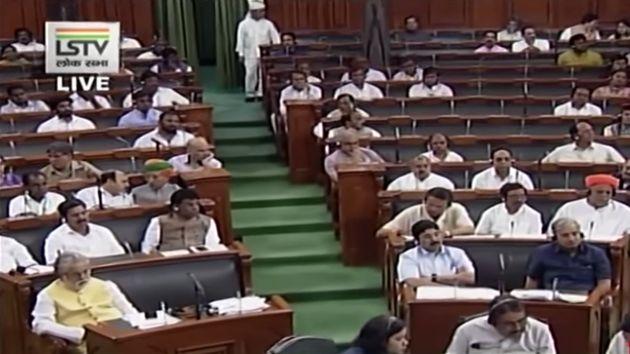 BJP Ally JD(U) Stages Walkout From Lok Sabha Over Triple Talaq