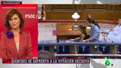El comentario de Ferreras a Carmen Calvo en 'Al Rojo Vivo': se lleva la respuesta que nadie