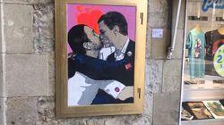 Iglesias y Sánchez, a beso limpio en
