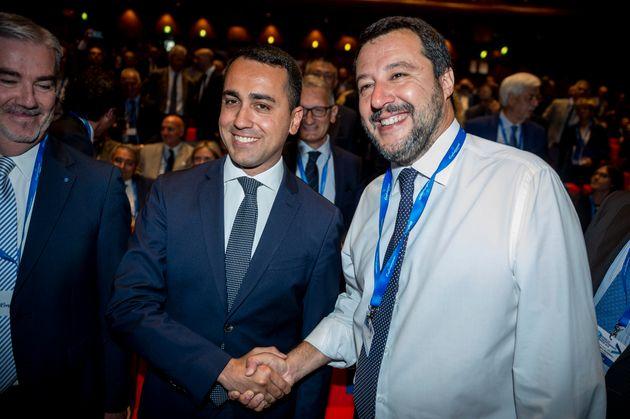 Incontro a pranzo tra Matteo Salvini e Luigi Di