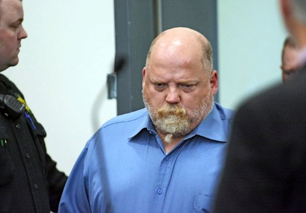 William Talbott II enters a courtroom in Mount Vernon, Wash., on May 18,