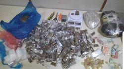 Αστυνομικοί «ξετρύπωσαν» ναρκωτικά στο «τρίγωνο του