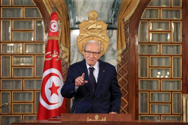 Décès de Béji Caïd Essebsi: Le roi Mohammed VI présente ses