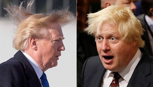Boris Johnson and Donald Trump Are Peak White Male