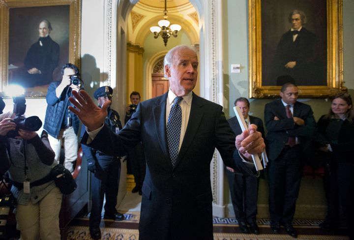 "In 2012, then-Vice President Joe Biden was instrumental in closing the ""fiscal cliff"" deal with Senate Majority Leader Mitch"