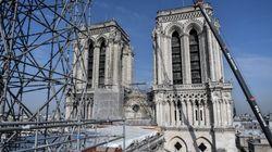 Le chantier de Notre-Dame suspendu