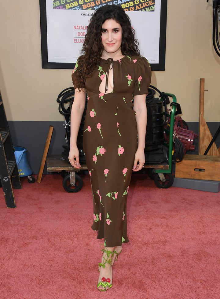 """Kate Berlant at the Los Angeles premiere of """"Once Upon a Time in Hollywood"""" on July 22."""