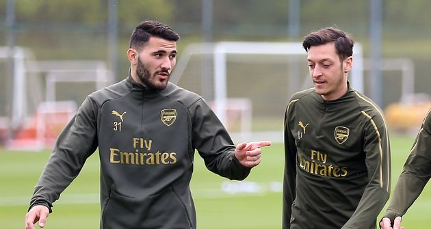 Arsenal Stars Mesut Ozil And Sead Kolasinac Confronted By Two Knife-Wielding Men