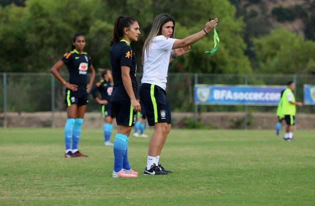 Emily Lima comandou a seleção brasileira de futebol feminino por dez