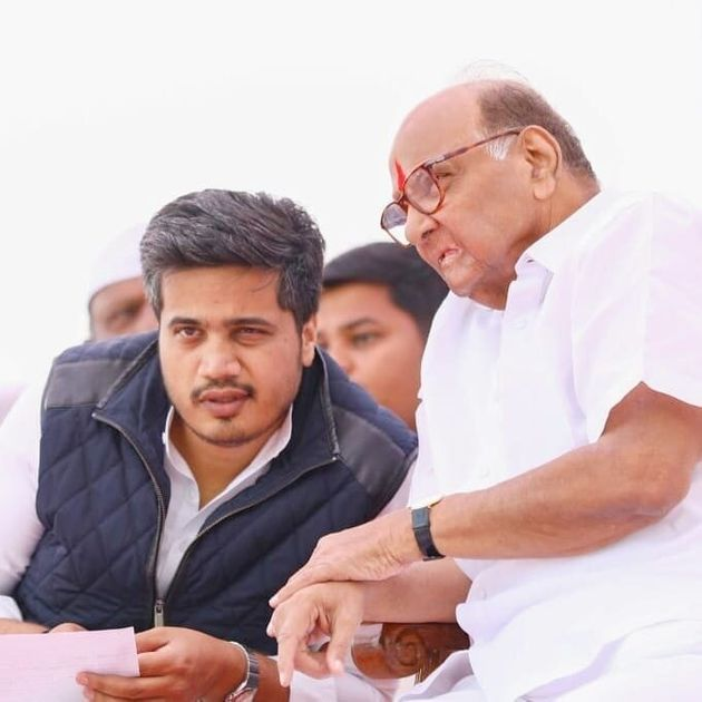 Sharad Pawar with