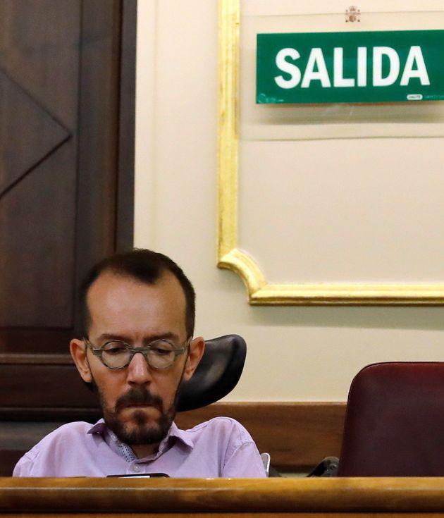 Echenique entiende que el PSOE necesita