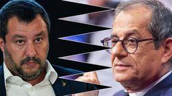 Salvini contro Tria: