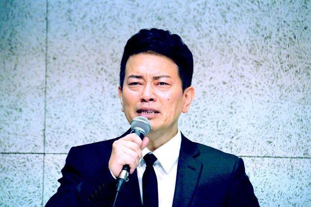 7月20日に記者会見した宮迫博之さん
