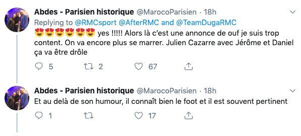 Julien Cazarre de retour sur
