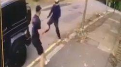 Due teppisti armati di coltello cercano di derubare Ozil. Il compagno di squadra li affronta a mani