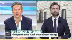 La respuesta de Joaquín Prat tras este comentario de Espinosa de los Monteros: