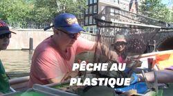 À Amsterdam, des croisières écolos pour nettoyer les