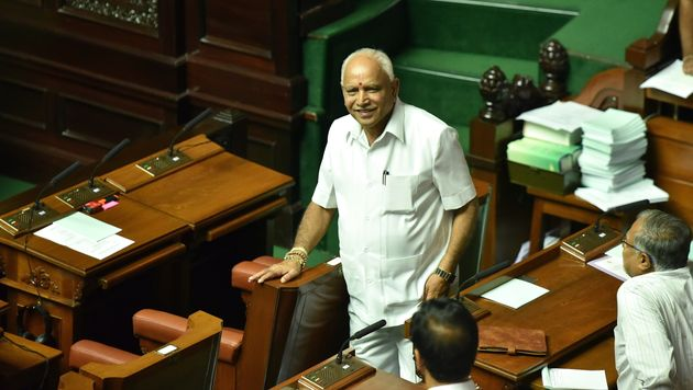 Yediyurappa Takes Oath As Karnataka Chief Minister For Fourth