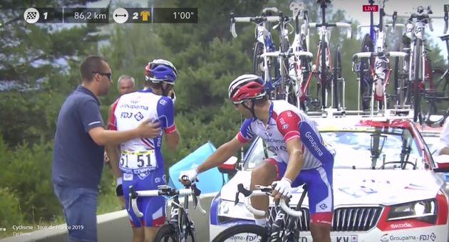 Ce 26 juillet, Thibaut Pinot a vécu un calvaire sur les routes du Tour de France, dont il était...