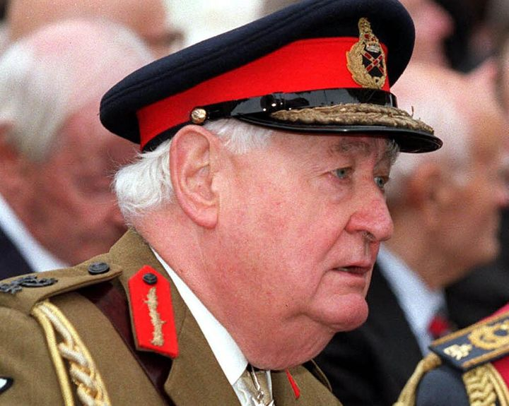 <strong>Field Marshall Lord Bramall pictured in 2000.</strong>