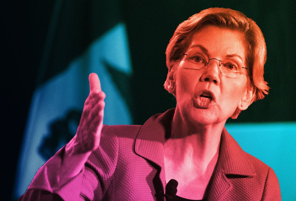 By focusing on racial inequity during her campaign, Elizabeth Warren has made inroads with political activists and strategist