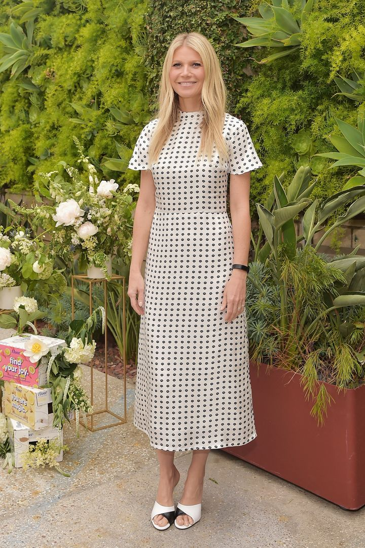 Gwyneth Paltrow hosts a Goop morning in celebration of first international campaign with Flow Alkaline Spring Water on June 6