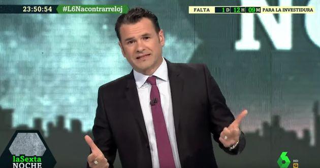 Iñaki López, host of 'LaSexta