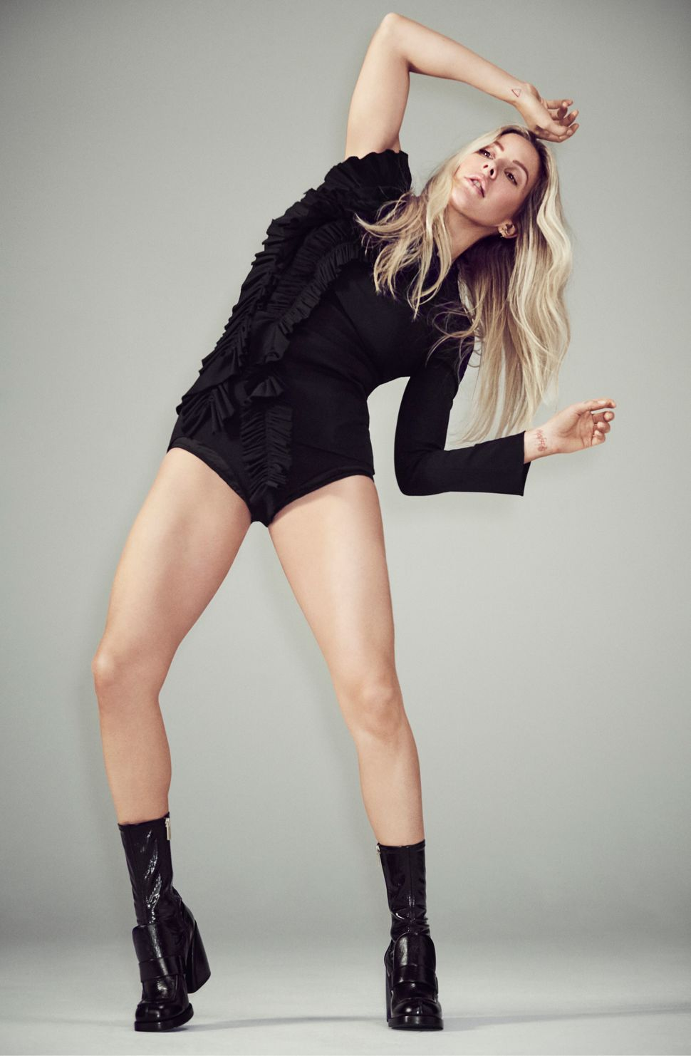 Ellie Goulding is working on new music for her fourth studio album.