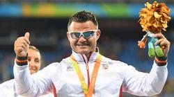 El medallista paralímpico español David Casinos emociona a todos con su mensaje tras perder a su perra
