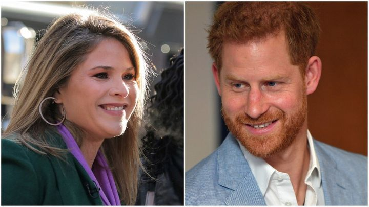 Jenna Bush Hager Blames Sunglasses For Prince Harry Not Being Her ...
