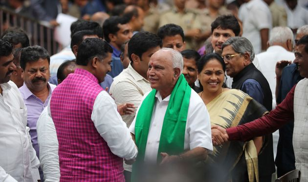 Yediyurappa Needs Numbers For Monday's Trust Vote, JD(S) Members Urge Kumaraswamy To Lend