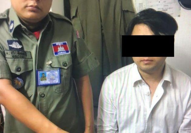 캄보디아서 '일본인'이라 주장한 마약범이 한국인으로