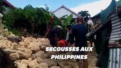 Aux Philippines, deux séismes successifs ont fait plusieurs