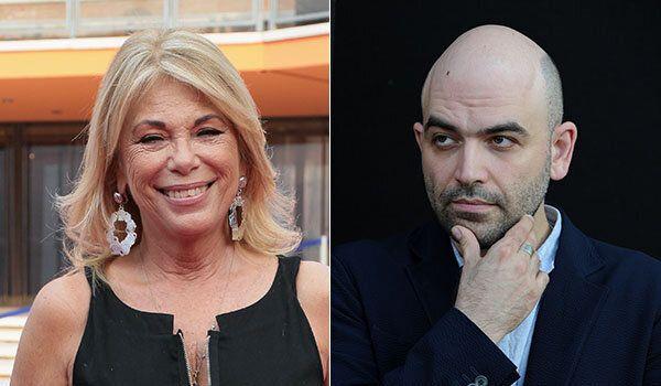 Rita Dalla Chiesa contro Roberto Saviano: