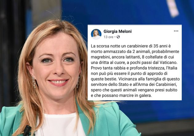 Giorgia Meloni ovvero Dagli al