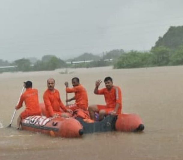 PHOTOS: How NDRF, Navy Rescued 1050 Passengers Stranded On Mahalaxmi