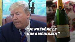 Donald Trump tape sur les vins français, mais voici les avis sur ceux de sa propre