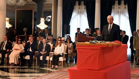 Les photos de la cérémonie à la mémoire de Béji Caid Essebsi au Palais de