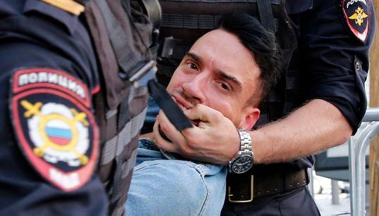 Αυτή ήταν η τύχη διαδηλωτών στη Ρωσία που ζητούσαν ελεύθερες