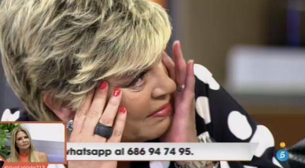 Terelu Campos llora en 'Viva La