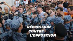 À Moscou, plus d'un millier de manifestants demandant