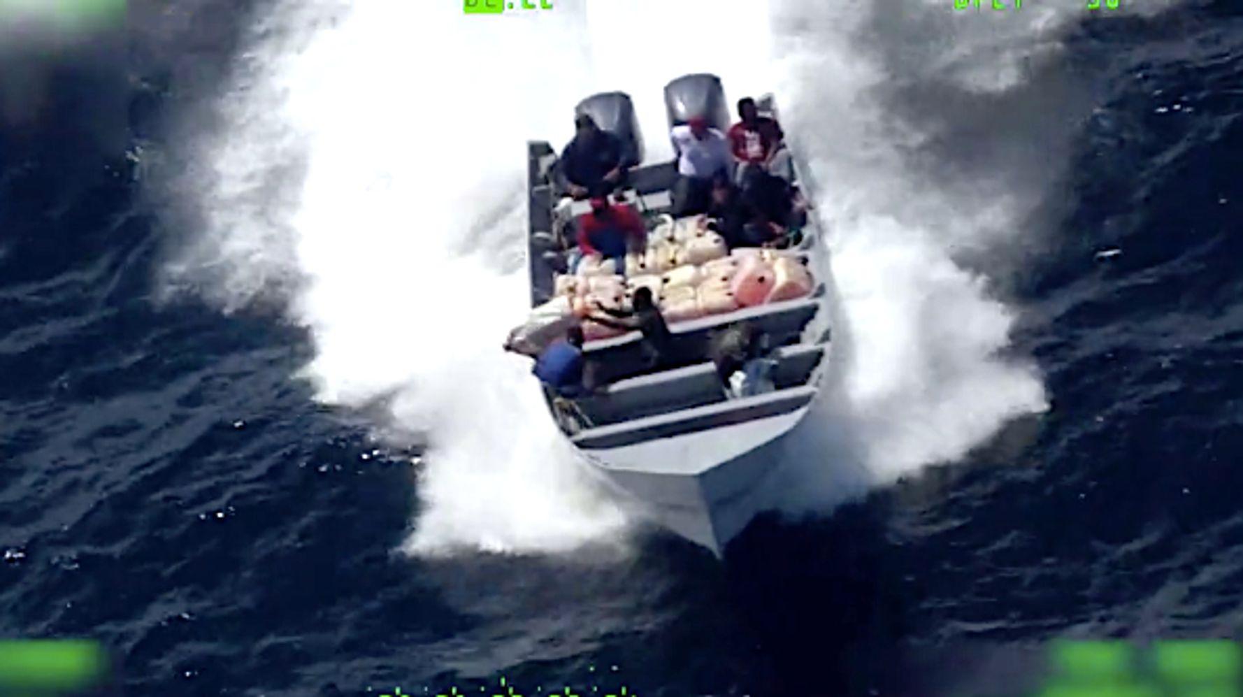 Watch Drug Suspects Desperately Dump Cocaine In Coast Guard