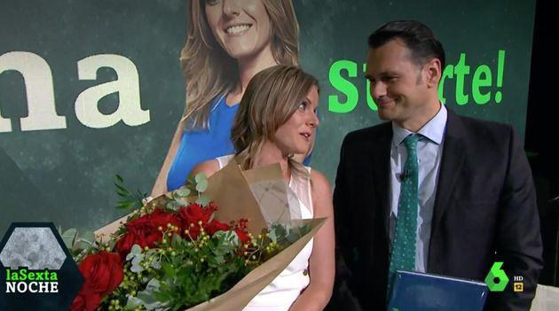Andrea Ropero e Iñaki López en 'LaSexta