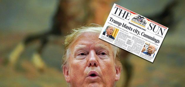Trump: le «Baltimore Sun» répond férocement à ses