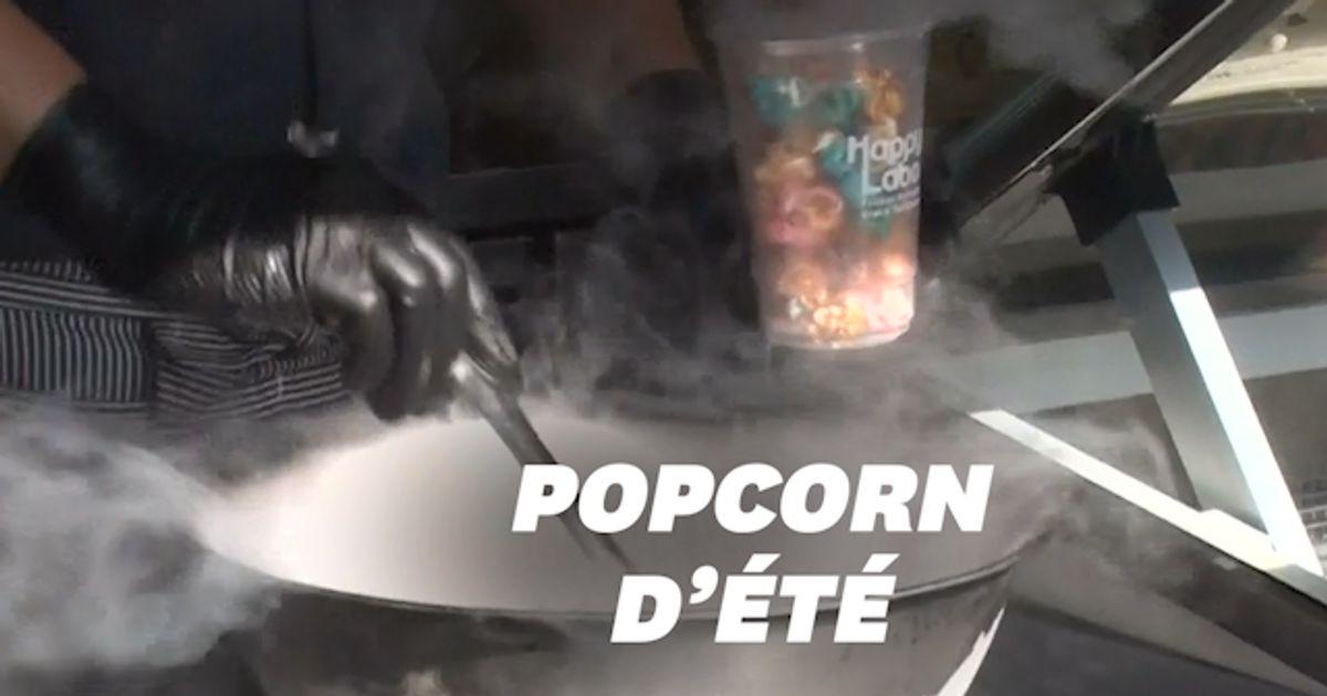 Frozen popcorn, le maïs glacé à l'azote liquide qui affole les papilles au Japon